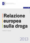 immagine rappresentativa della notizia OEDT, presentato oggi il report annuale sul fenomeno droga in Europa