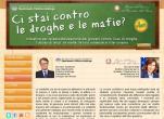 """immagine rappresentativa della notizia """"Ci stai contro le droghe e le mafie?"""" al via il concorso rivolto agli studenti italiani"""